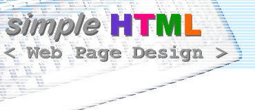 simple HTML