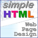 Simple HTML, Web Page Design